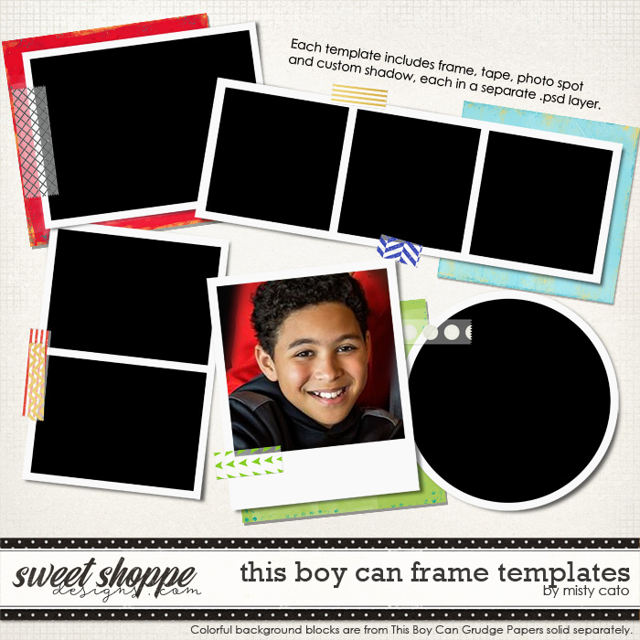 This Boy Can Frame Templates by Misty Cato