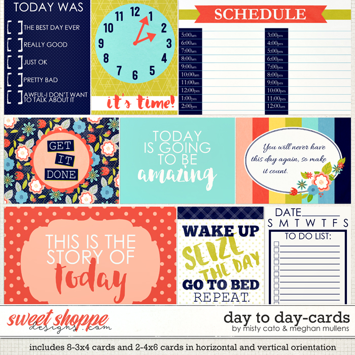Day to Day Cards by Meghan Mullens and Misty Cato