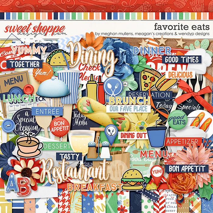 Favorite eats by Megan Mullens, Meagan's Creations & WendyP Designs