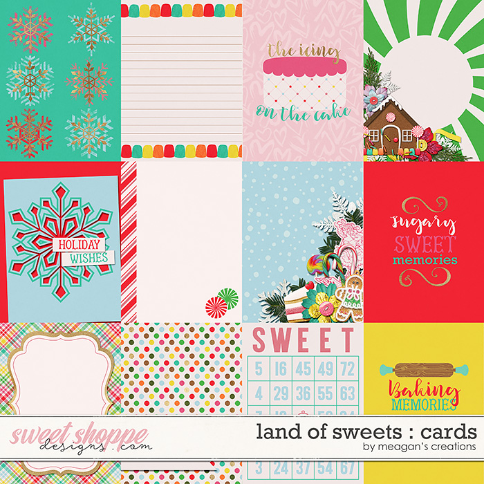 Land of Sweets : Cards by Meagan's Creations