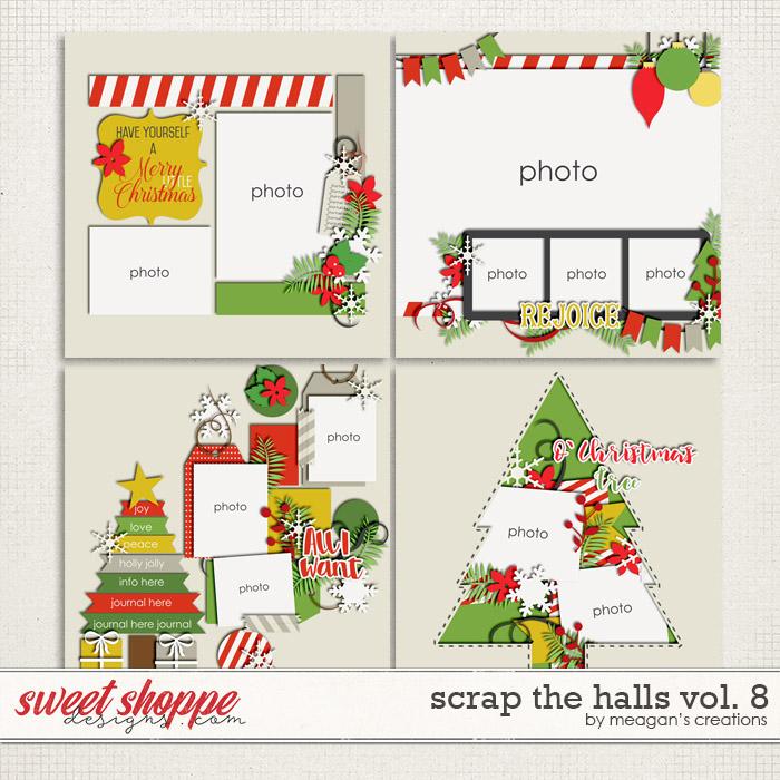 Scrap the Halls Vol. 8 by Meagan's Creations