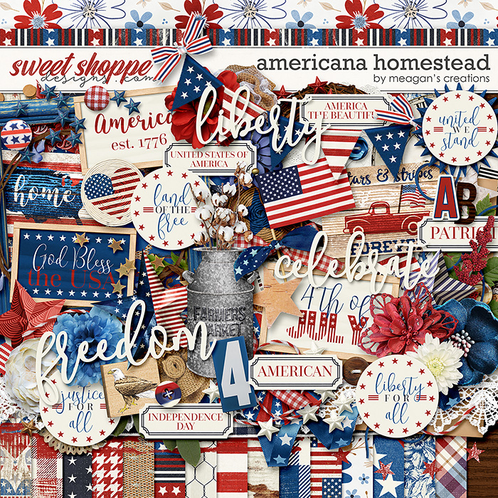Americana Homestead by Meagan's Creations