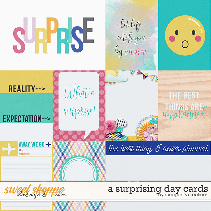 A Surprising Day Cards by Meagan's Creations