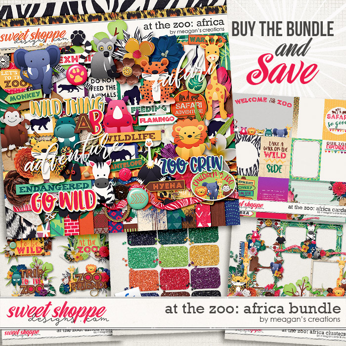 At the Zoo: Africa Collection Bundle by Meagan's Creations