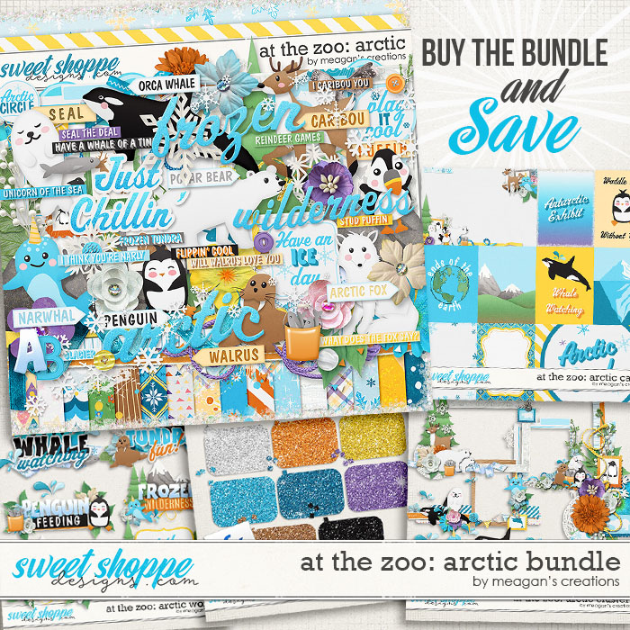 At the Zoo: Arctic Collection Bundle by Meagan's Creations