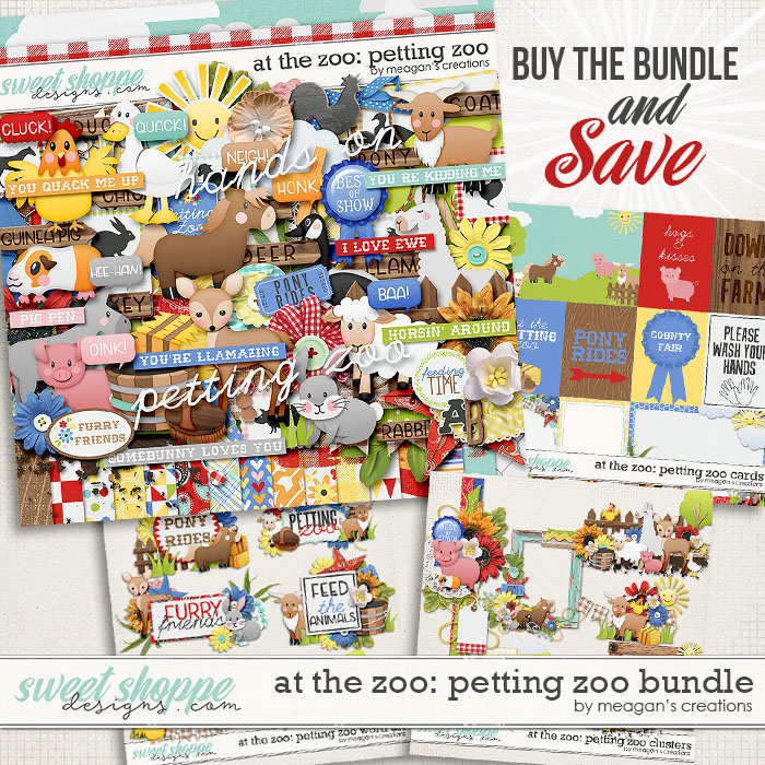 At the Zoo: Petting Zoo Collection Bundle by Meagan's Creations