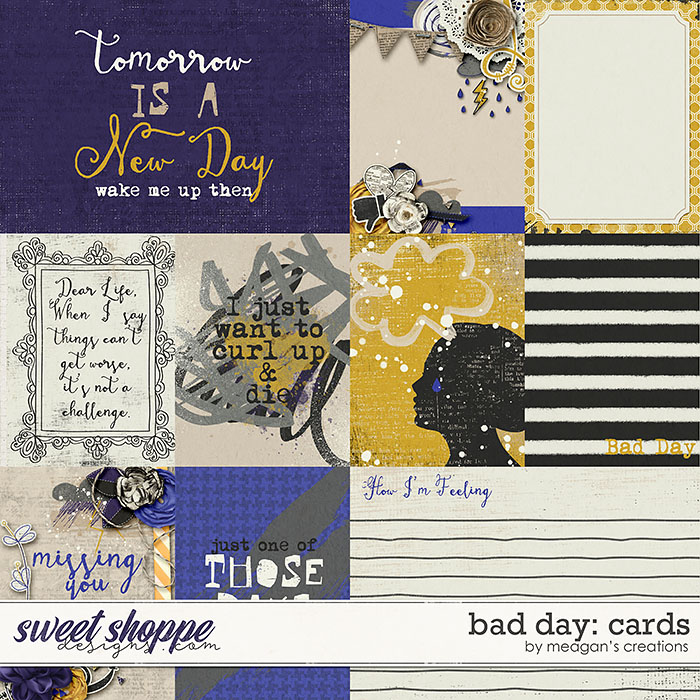 Bad Day: Cards by Meagan's Creations