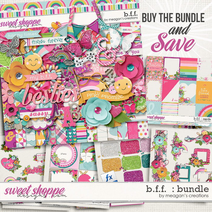B.F.F. : Collection Bundle by Meagan's Creations