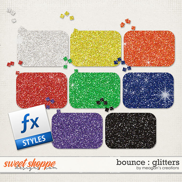 Bounce : Glitters by Meagan's Creations