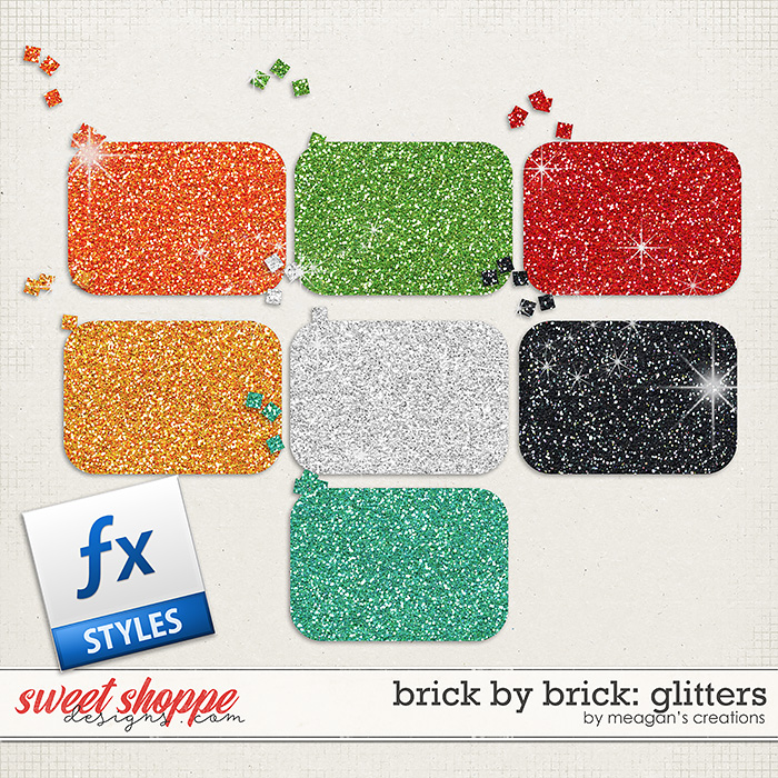 Brick by Brick: Glitters by Meagan's Creations