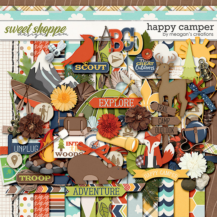 Happy Camper by Meagan's Creations