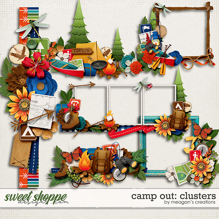 Camp Out: Clusters by Meagan's Creations