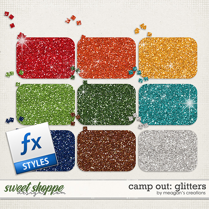 Camp Out: Glitters by Meagan's Creations