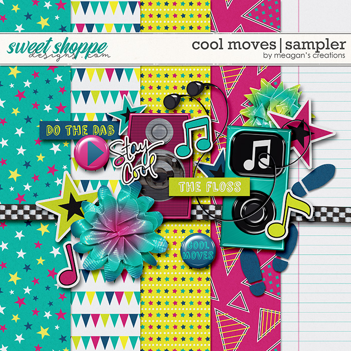 Cool Moves Sampler by Meagan's Creations