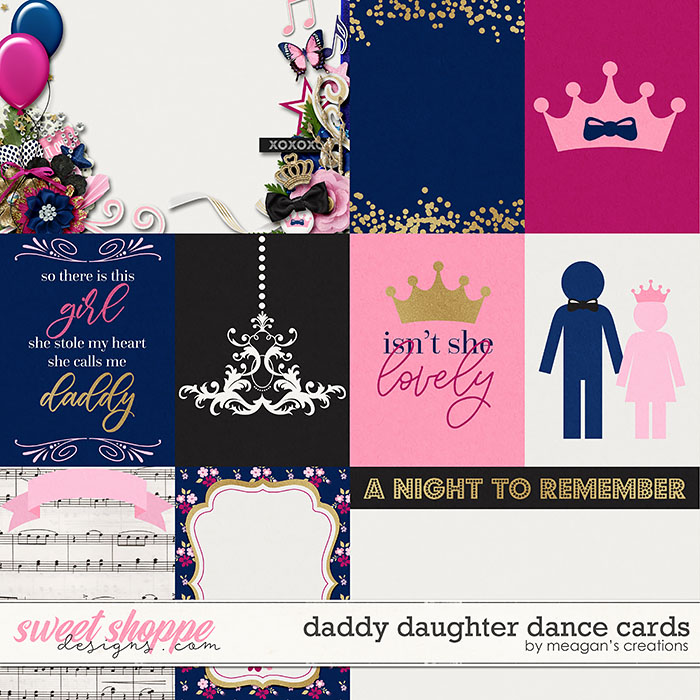 Daddy Daughter Dance Cards by Meagan's Creations