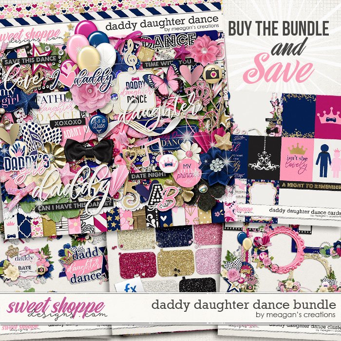 Daddy Daughter Dance Collection Bundle by Meagan's Creations
