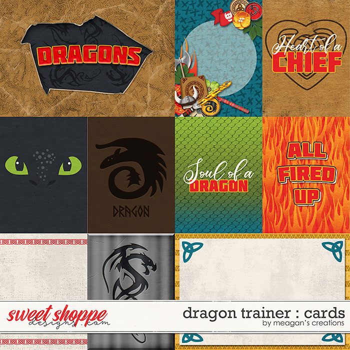 Dragon Trainer : Cards by Meagan's Creations