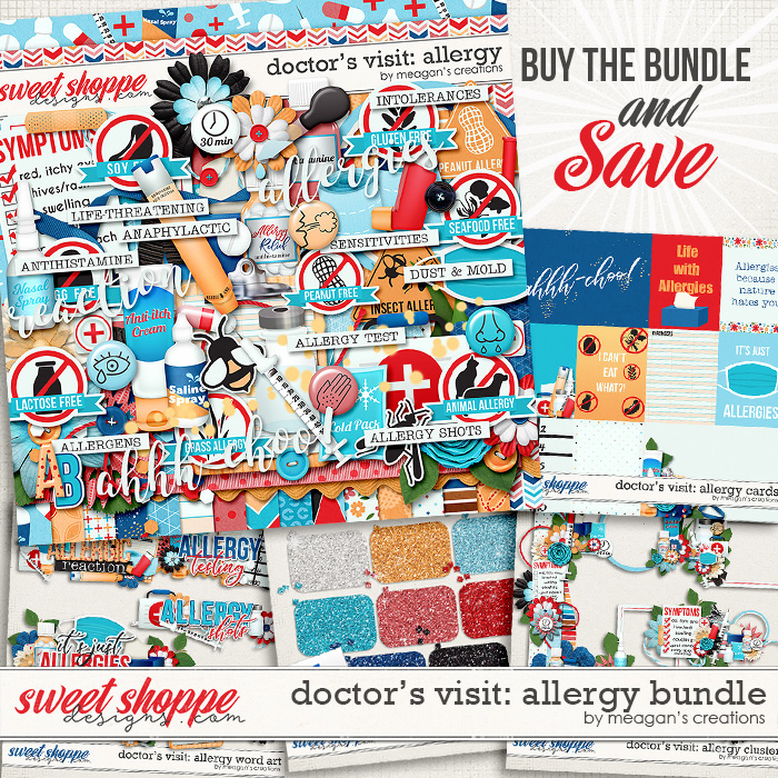 Doctor's Visit: Allergy Bundle by Meagan's Creations