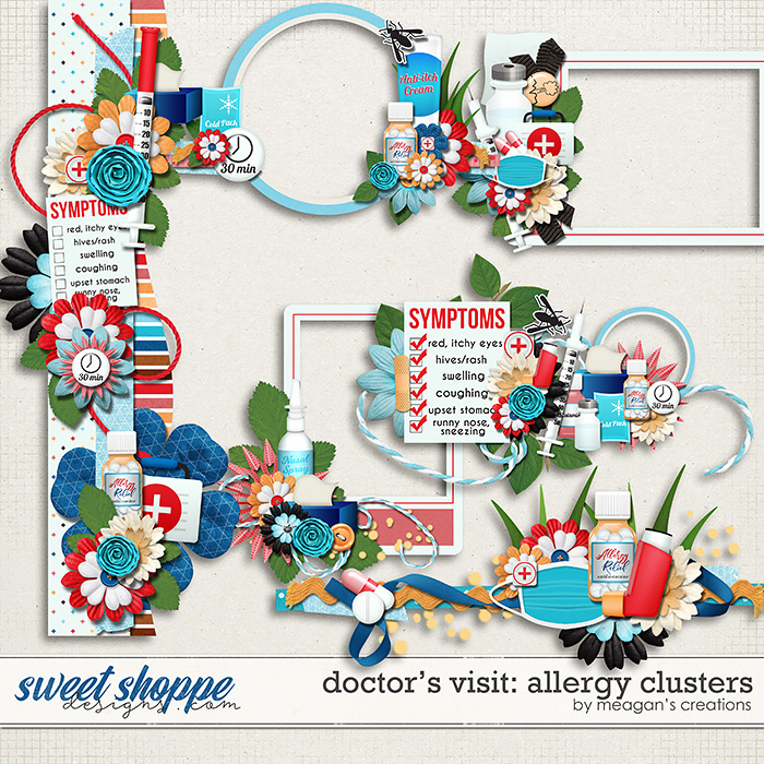 Doctor's Visit: Allergy Clusters by Meagan's Creations