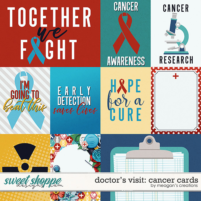 Doctor's Visit: Cancer Cards by Meagan's Creations