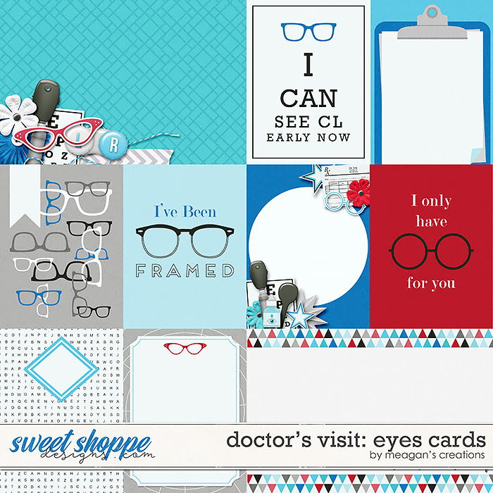 Doctor's Visit: Eyes Cards by Meagan's Creations