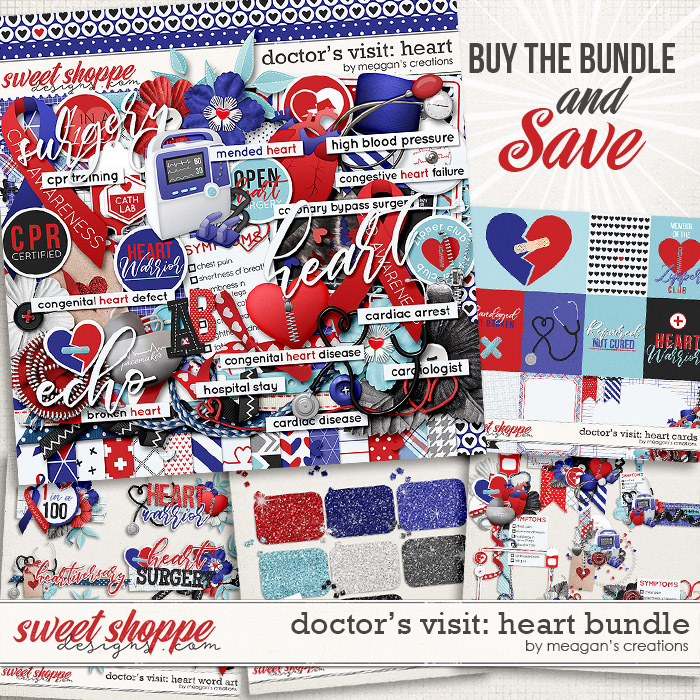 Doctor's Visit: Heart Bundle by Meagan's Creations