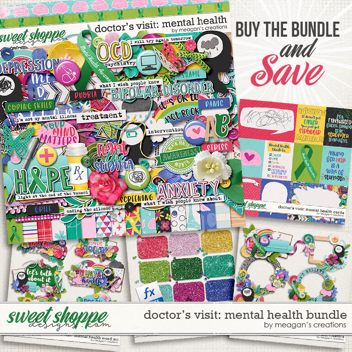 Doctor's Visit: Mental Health Collection Bundle by Meagan's Creations