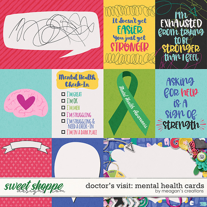 Doctor's Visit: Mental Health Cards by Meagan's Creations