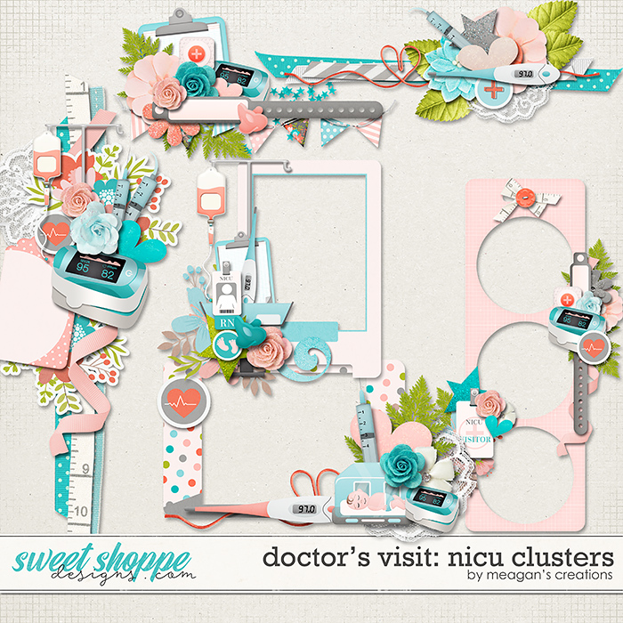 Doctor's Visit: NICU Clusters by Meagan's Creations
