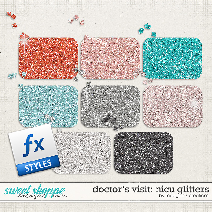 Doctor's Visit: NICU Glitters by Meagan's Creations