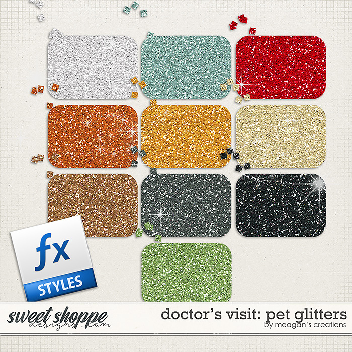 Doctor's Visit: Pet Glitters by Meagan's Creations