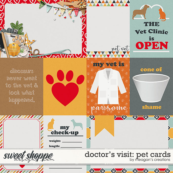 Doctor's Visit: Pet Cards by Meagan's Creations