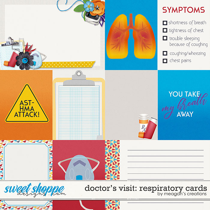 Doctor's Visit: Respiratory Cards by Meagan's Creations