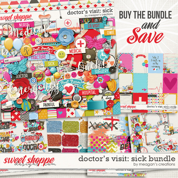 Doctor's Visit: Sick Bundle by Meagan's Creations