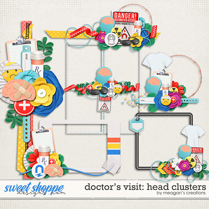Doctor's Visit: Head Clusters by Meagan's Creations