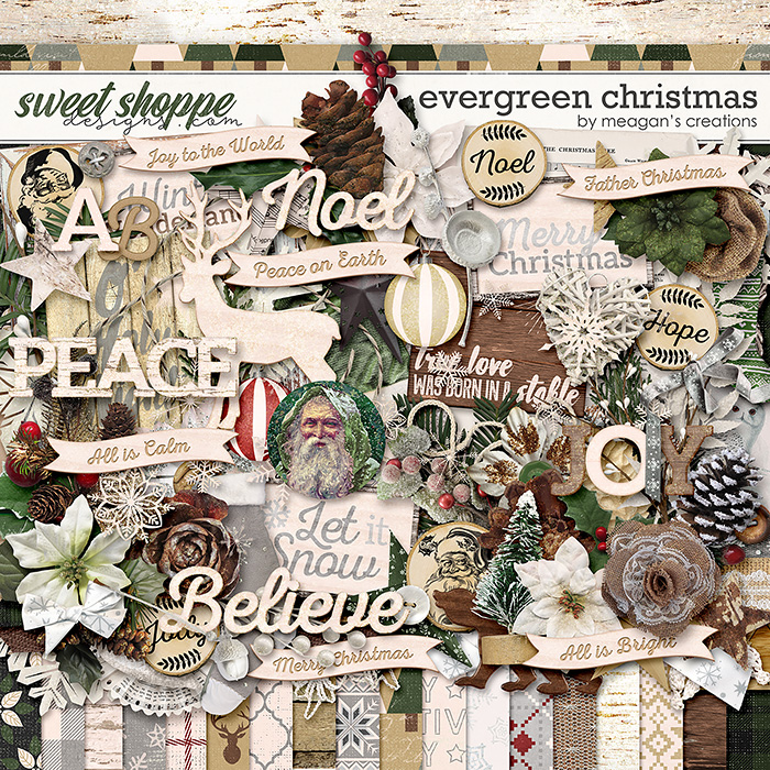 Evergreen Christmas by Meagan's Creations