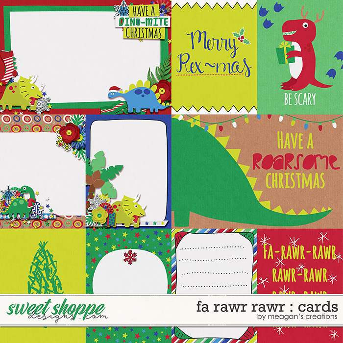 Fa Rawr Rawr : Cards by Meagan's Creations