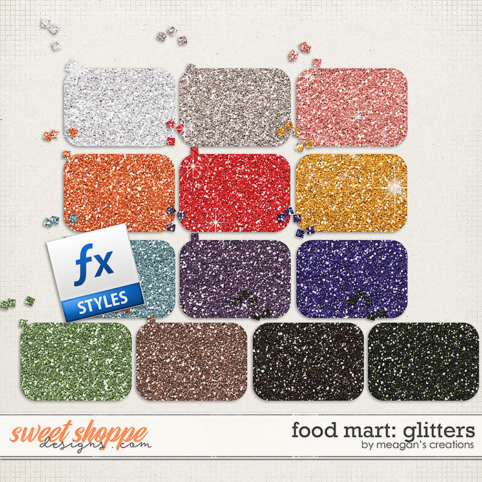 Food Mart: Glitters by Meagan's Creations