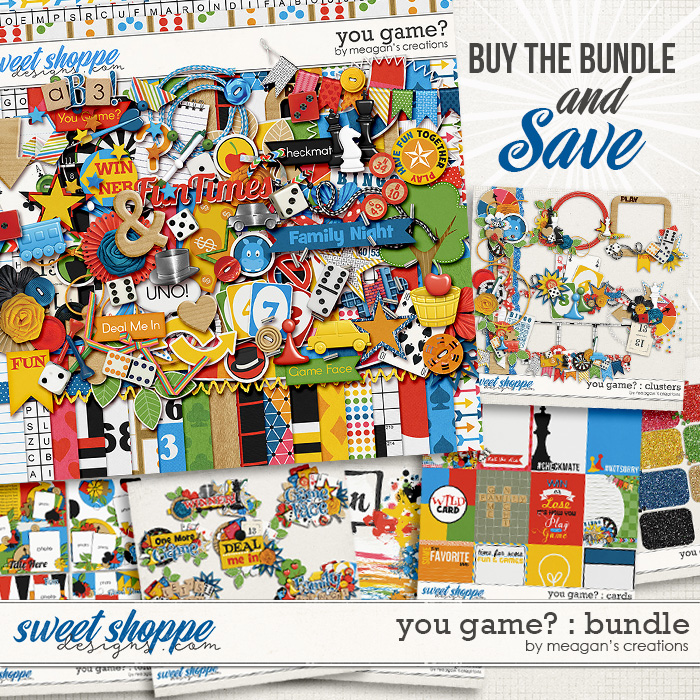 You Game? : Collection Bundle by Meagan's Creations
