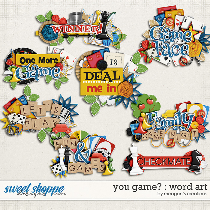 You Game? : Word Art by Meagan's Creations