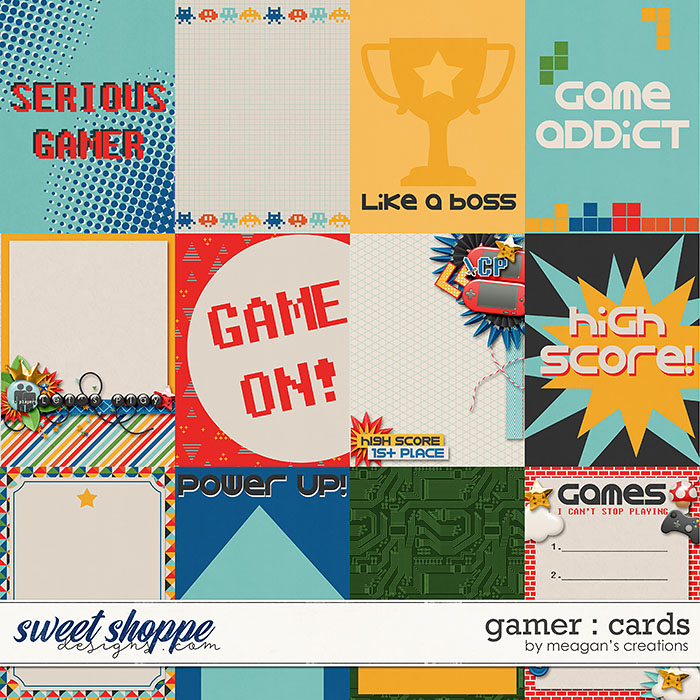Gamer : Cards by Meagan's Creations
