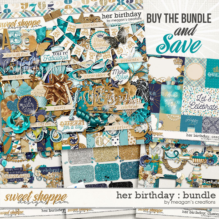 Her Birthday Collection Bundle by Meagan's Creations