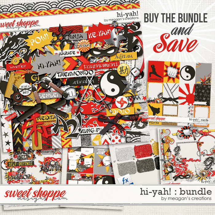 Hi-Yah! : Bundle by Meagan's Creations