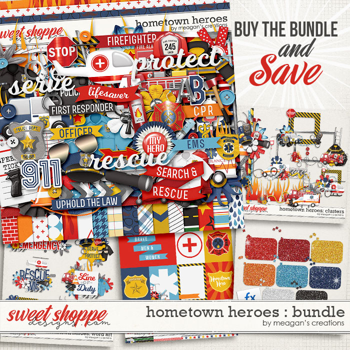 Hometown Heroes : Bundle by Meagan's Creations