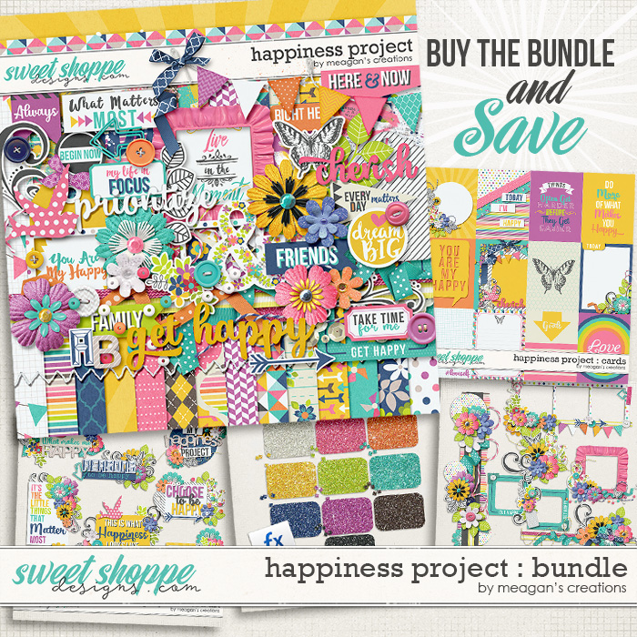Happiness Project : Bundle by Meagan's Creations