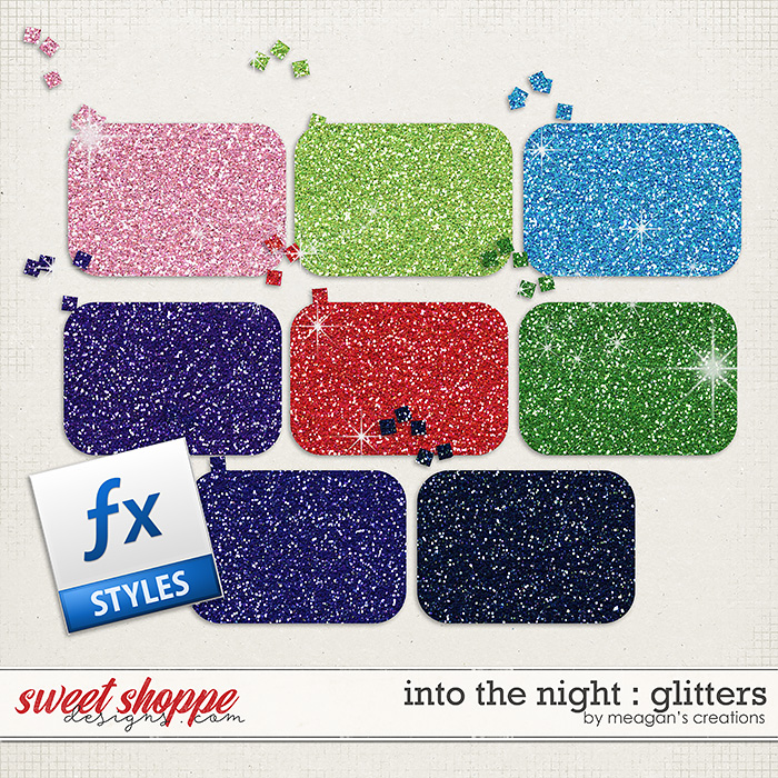 Into the Night : Glitters by Meagan's Creations
