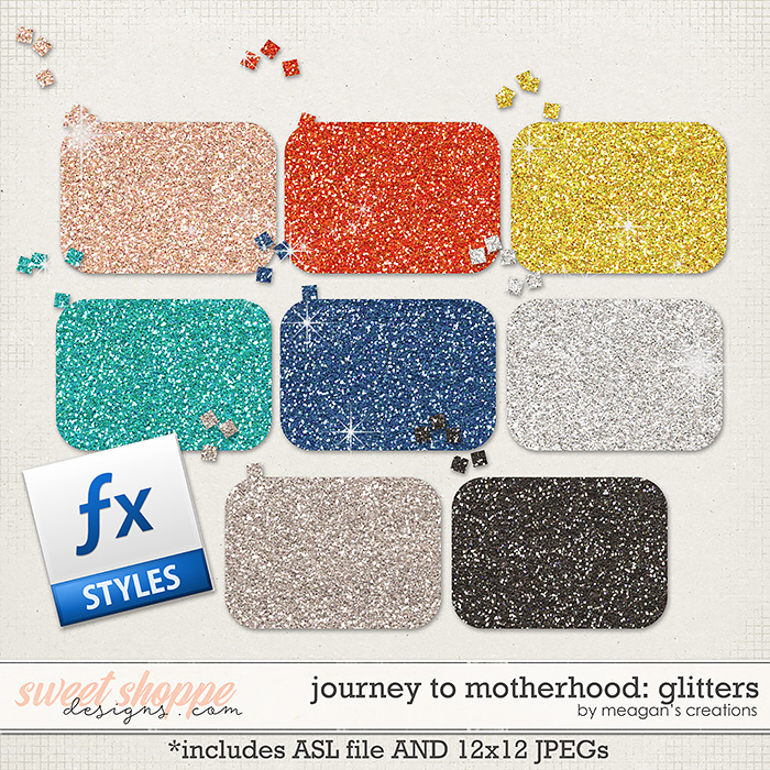 Journey to Motherhood: Glitters by Meagan's Creations