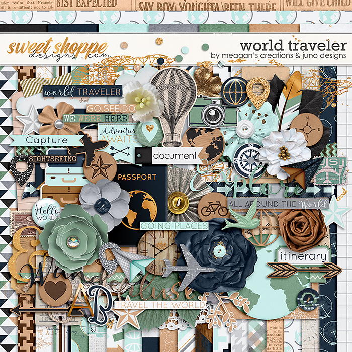 World Traveler : Kit by Meagan's Creations & Juno Designs