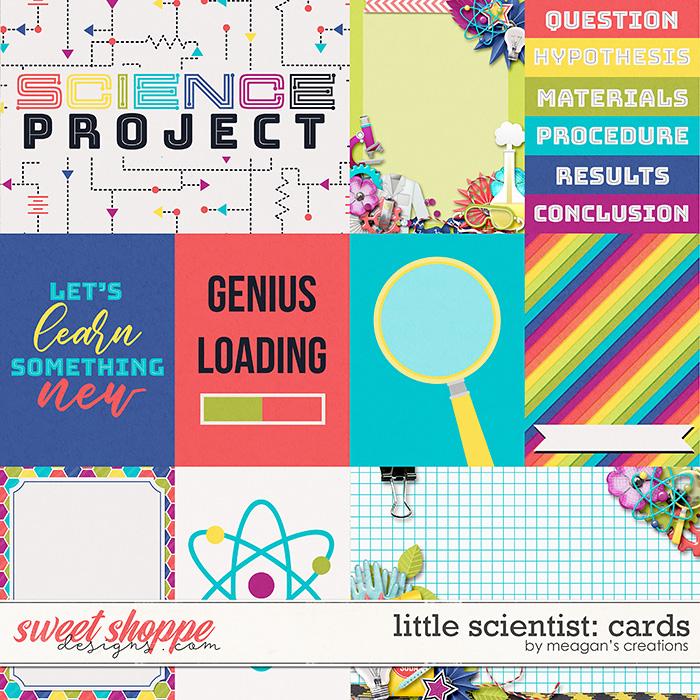 Little Scientist: Cards by Meagan's Creations