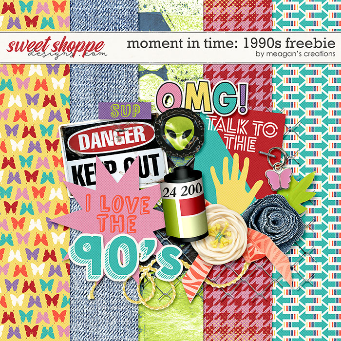 Moment in Time: 1990s Freebie by Meagan's Creations
